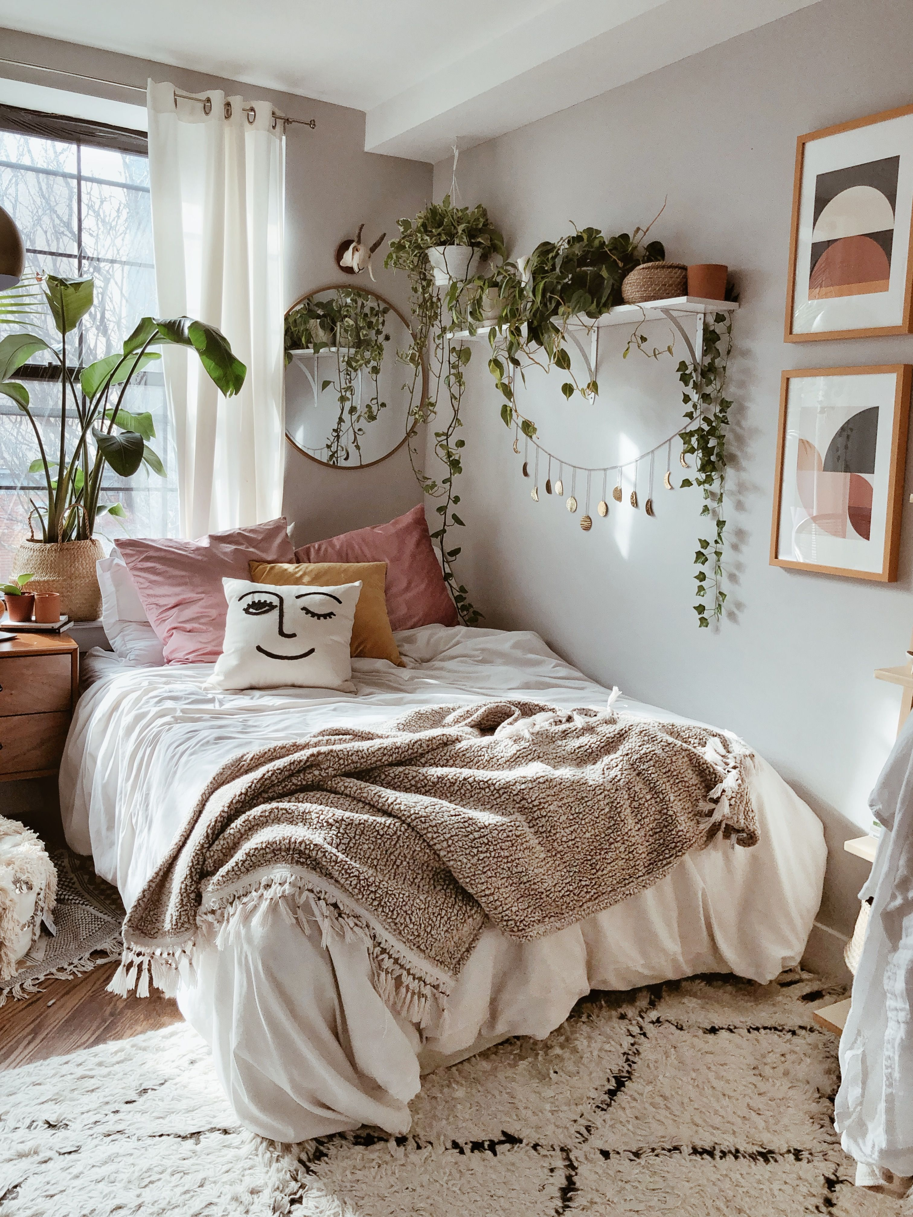 Boho Bedroom Aesthetic boho home decor boho bedroom DIY ... on Room Decor Aesthetic id=81886