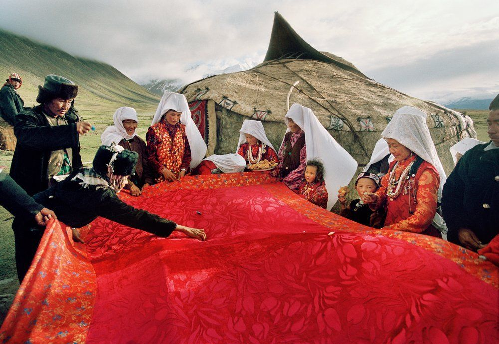 Matthieu Paley portraits of the Kyrgyz tribespeople.