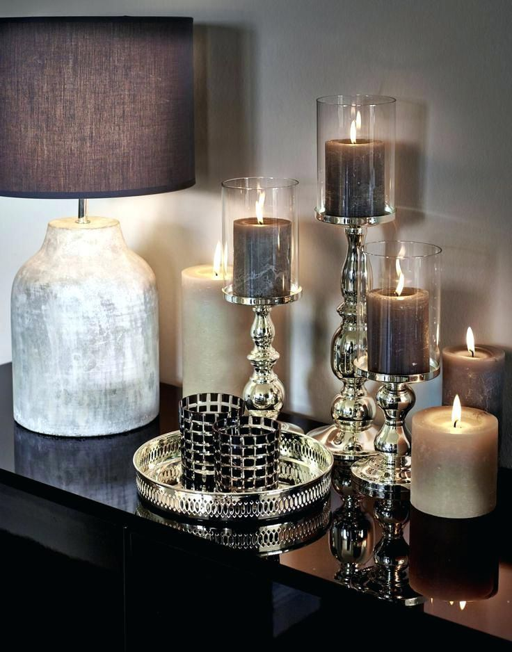 9 Trend Fotos Von Silber Wohnzimmer Deko In 2020 Living Room Table Home Decor Coffee Table Candle Decor
