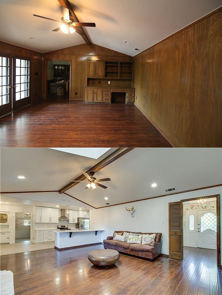 Small Galley Kitchen Remodel Before And After! This