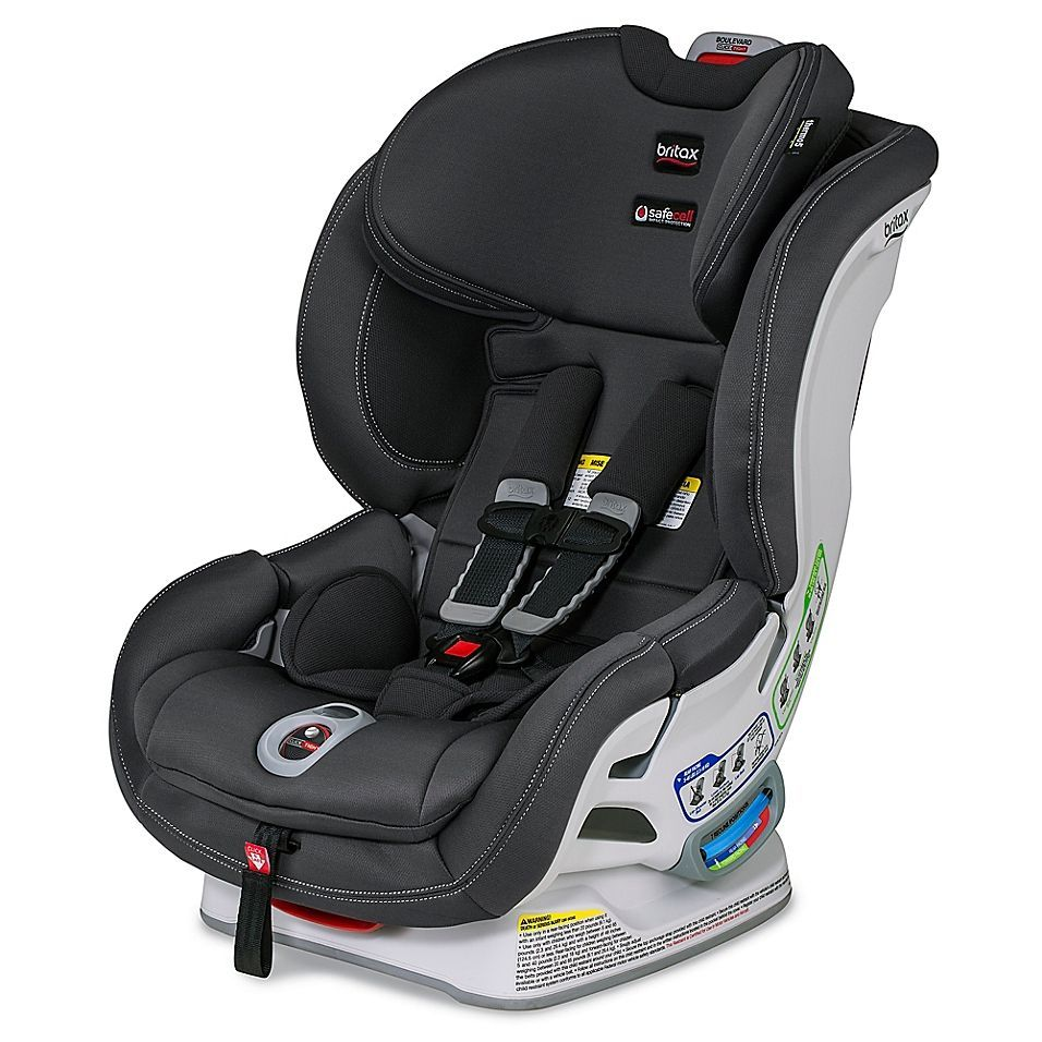Britax Boulevard Clicktight Cool N Dry Collection Convertible Car Seat In Charcoal In 2020 Britax Boulevard Car Seats Convertible Car Seat