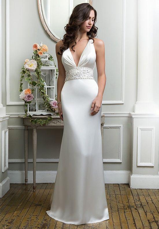 49b20dc1388 Lillian West 6374 Wedding Dress - The Knot