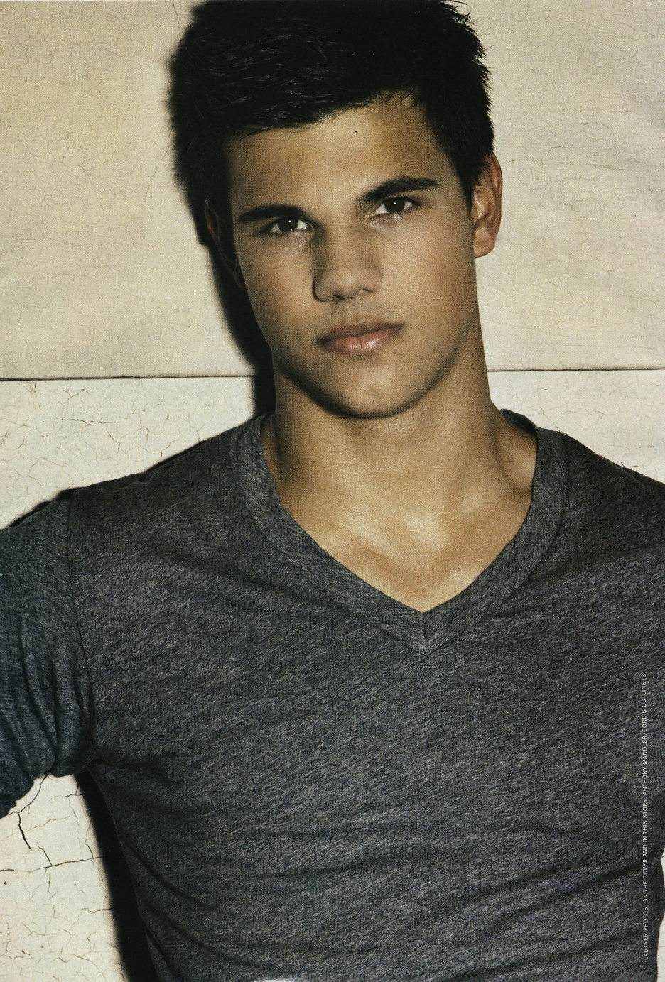 Taylor Lautner... had a crush on him ever since shark boy ... Taylor Lautner