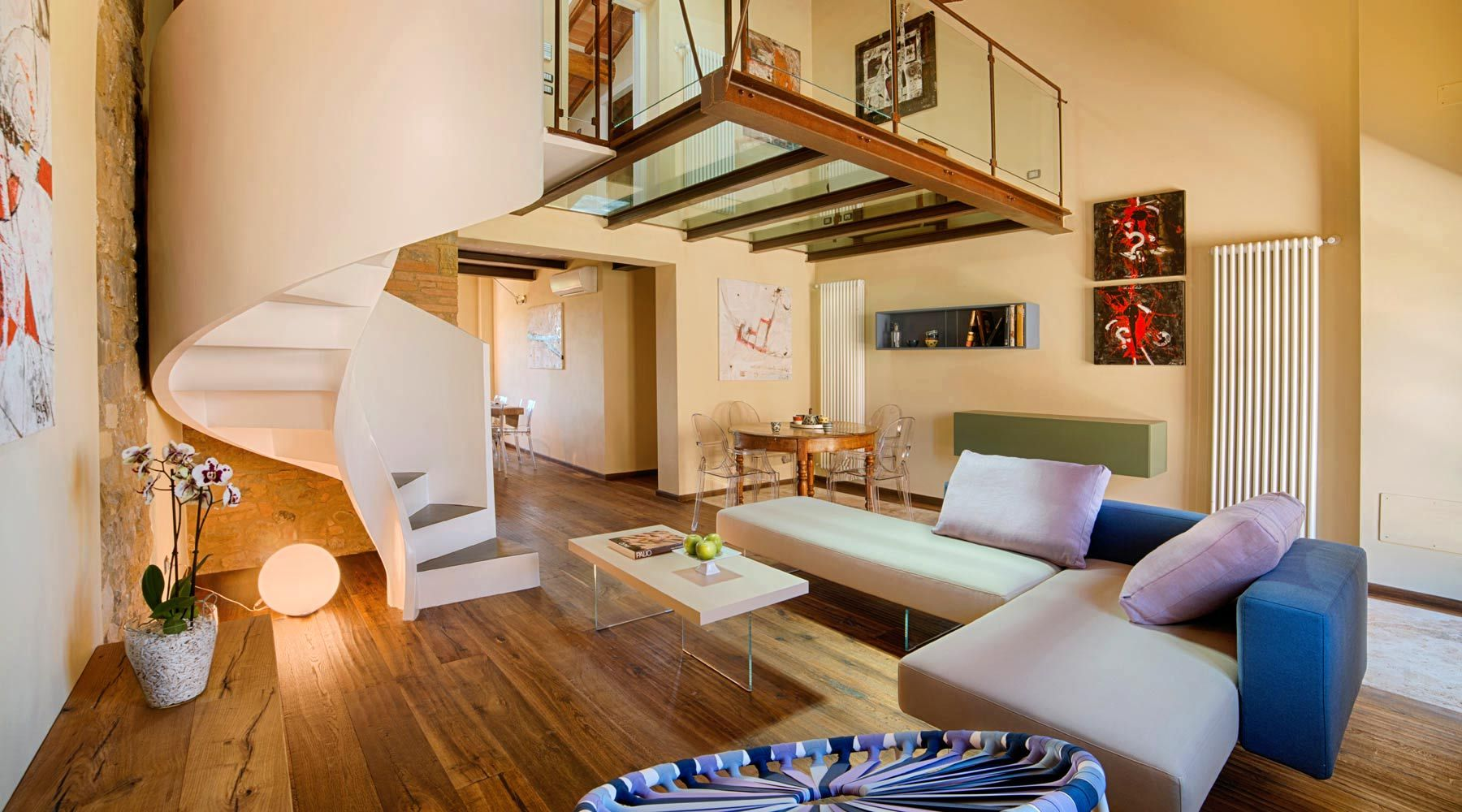 bed and breakfast di design in toscana con arredamento moderno ... - Arredamento Interior Design