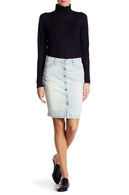 53b6c64320 Current/Elliott | The Dotty Distressed Skirt | *Jeans > Shorts ...