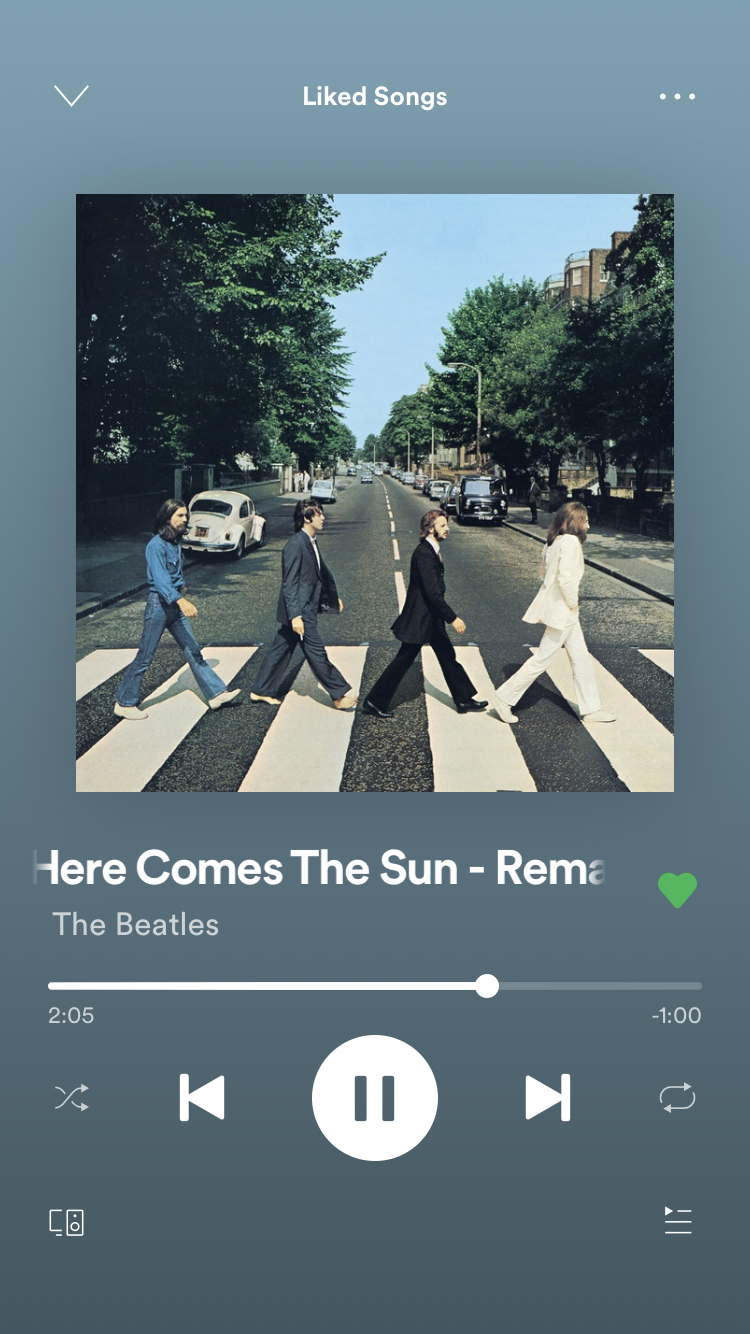 Here Comes The Sun Music Collage Instagram Music Spotify Music