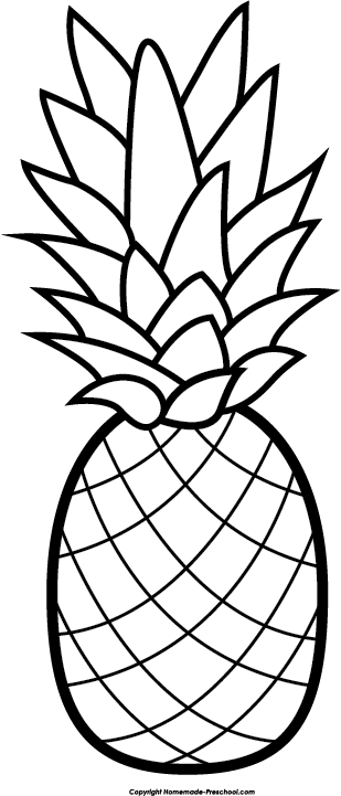 pineapple clipart free clip art hair image 4877 pineapple decor rh pinterest com