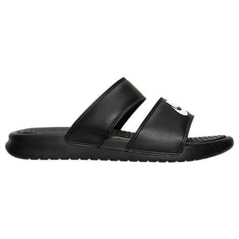 Women's Nike Benassi Duo Ultra Slide Sandals - 819717 819717-010| Finish  Line