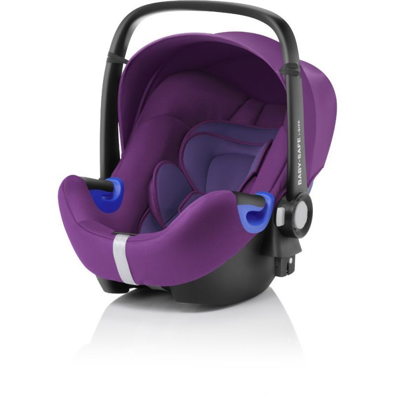 Britax baby safe isize car seatmineral purple babysafe