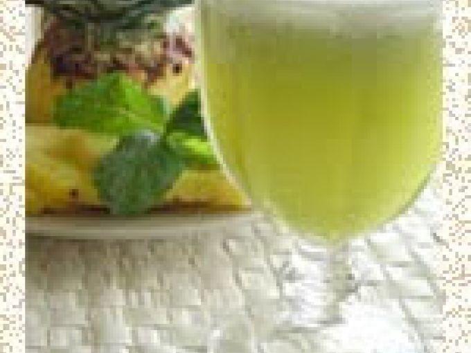 Suco De Abacaxi Com Hortela E Gengibre Receita Com Imagens