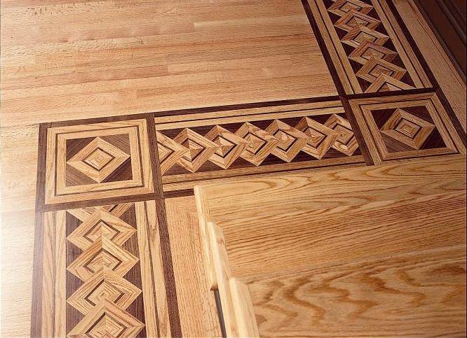 Palazzo Wood Border Red Oak In 2020 Wood Floor Design Cherry