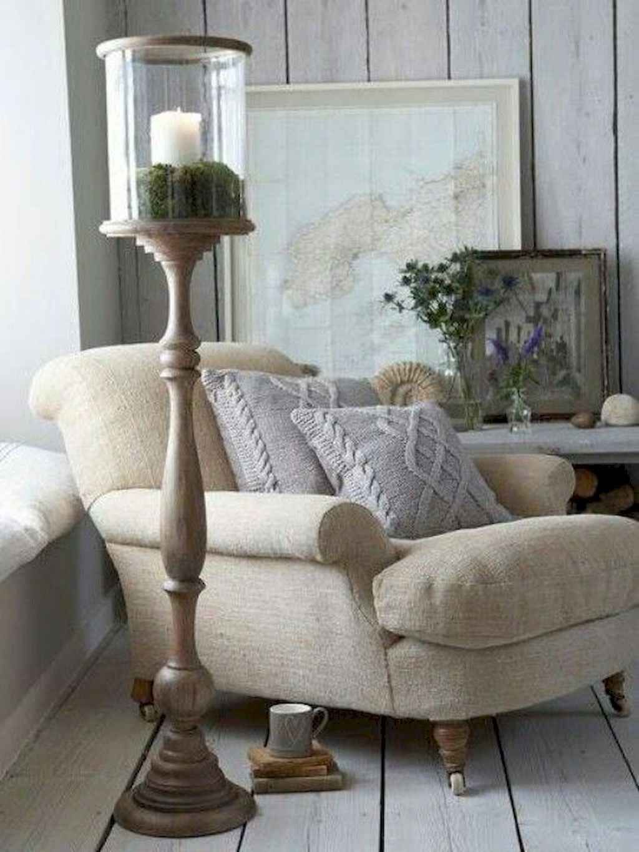 Idee decorative per soggiorno in stile country francese (1 ...