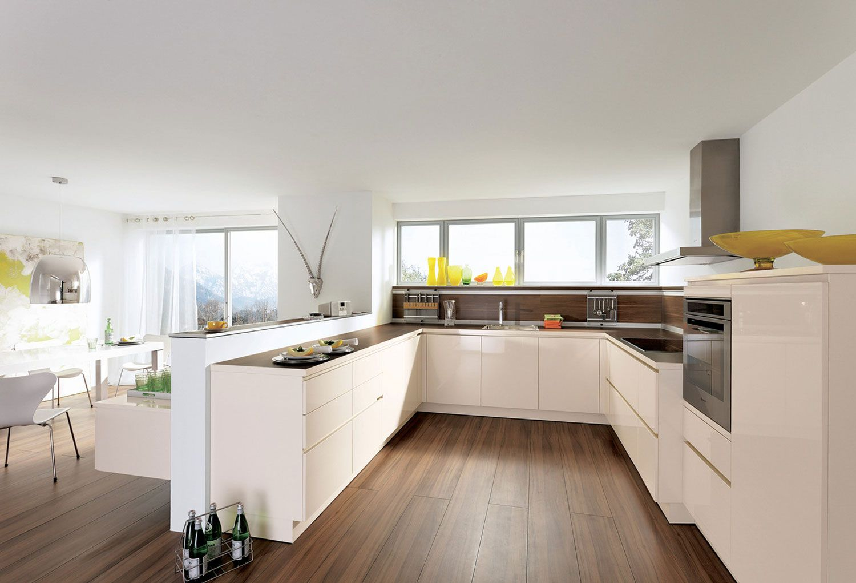ALNOSTAR CHARME U shaped kitchen, Modern kitchen design