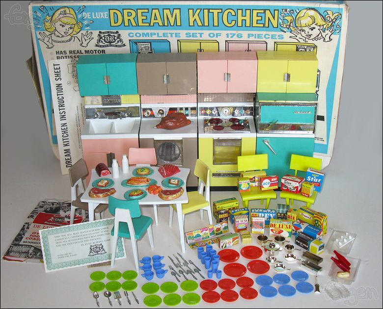 39 Awesome Barbie Kitchen Vintage Images Barbie In 2019