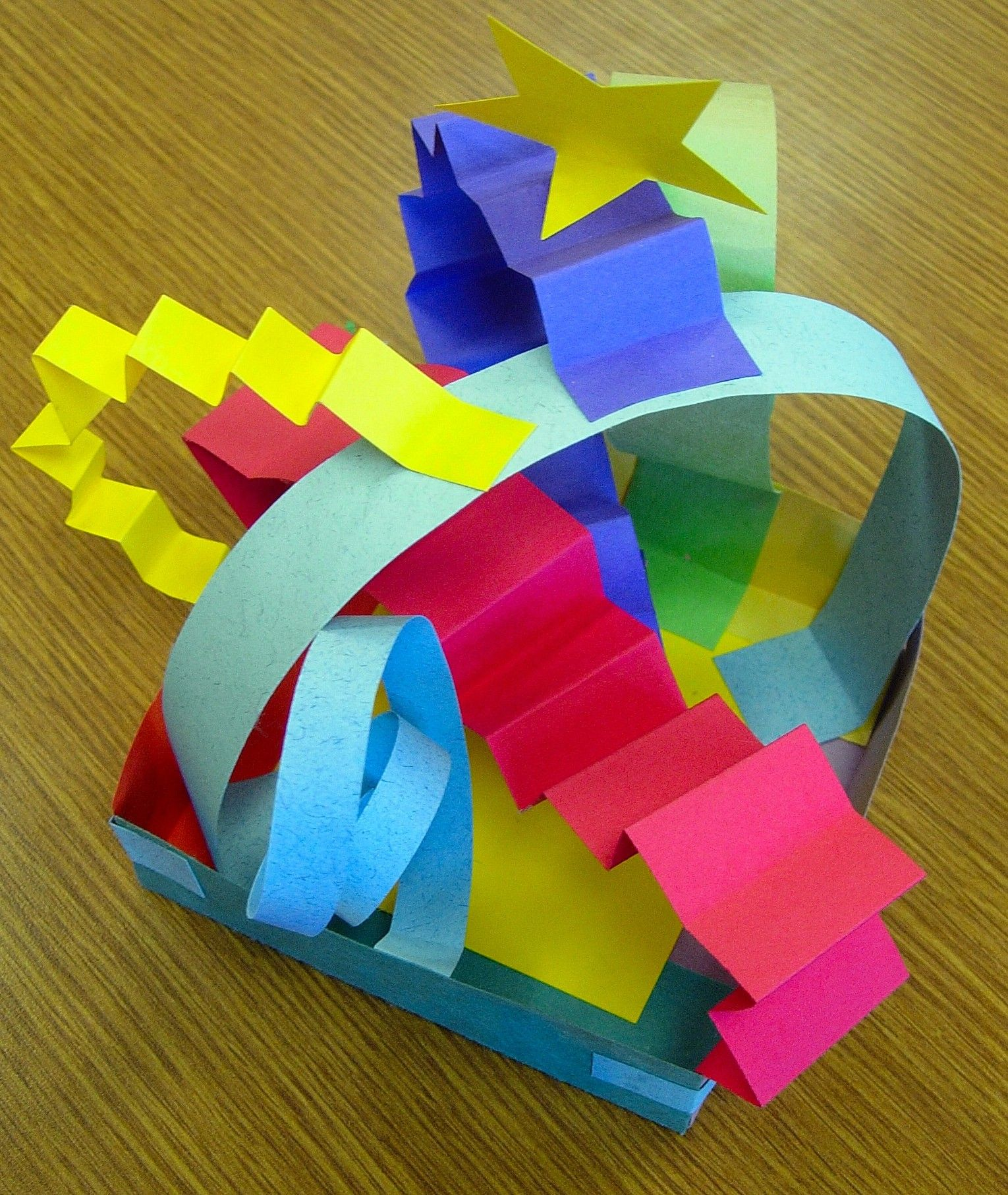 3d art projects for preschoolers paper sculpture escultures de paper paper 576