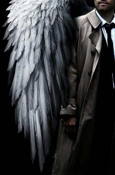 Castiel Looking Like A Boss Kudos To The Artist 3 Supernatural Fanart Cas Castiel Supernatural Supernatural Wallpaper Supernatural Art