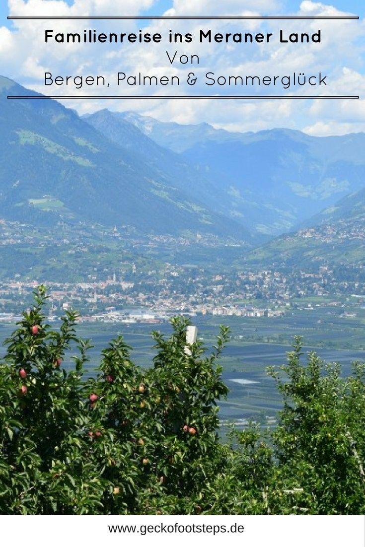 Südtirol stand eigentlich schon immer auf meiner Bucket List. Doch erst in diesem Sommer sollte es mit einer Familienreise ins Meraner Land klappen. #südtirol #meranerland #reisen #reiseblogger #travel #travelblogger