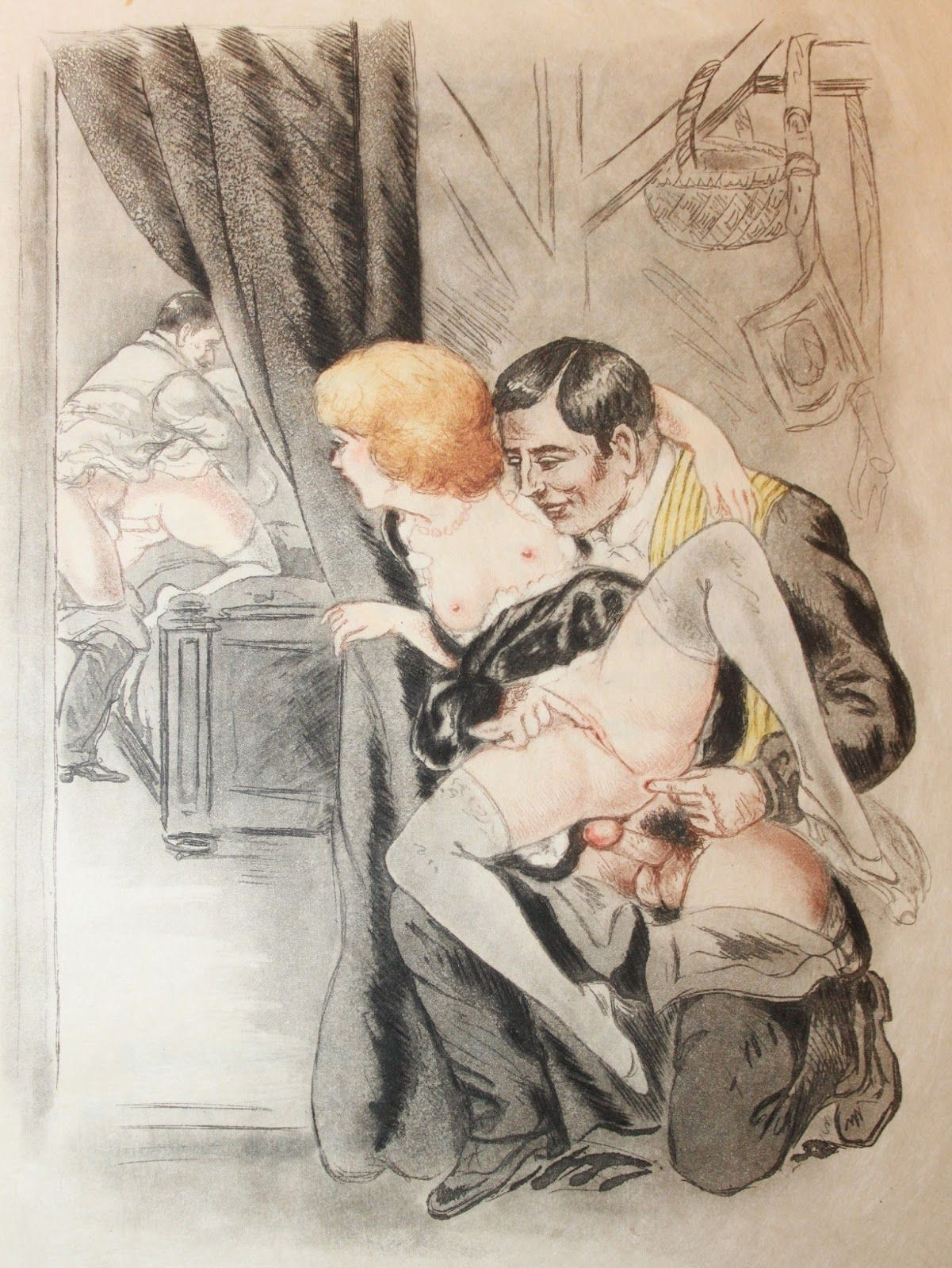 18th century themed mmf threesome - 3 1