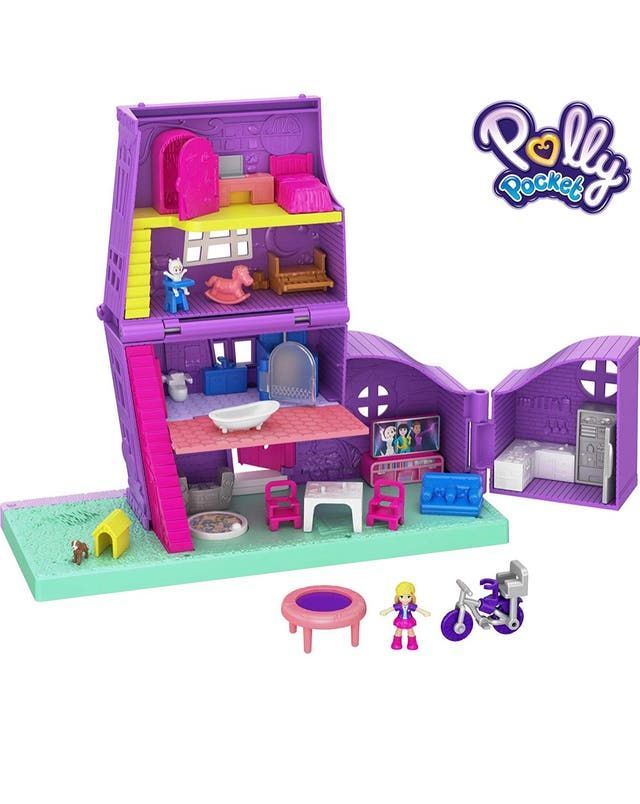 Pin En Polly Pocket