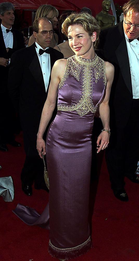 Renee Zellweger 1999 Oscar Fashion Red Carpet Dresses 2017 Red Carpet Oscars