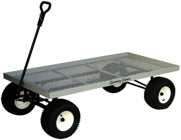Nursery Wire Mesh Wagon Sustainable Agriculture And