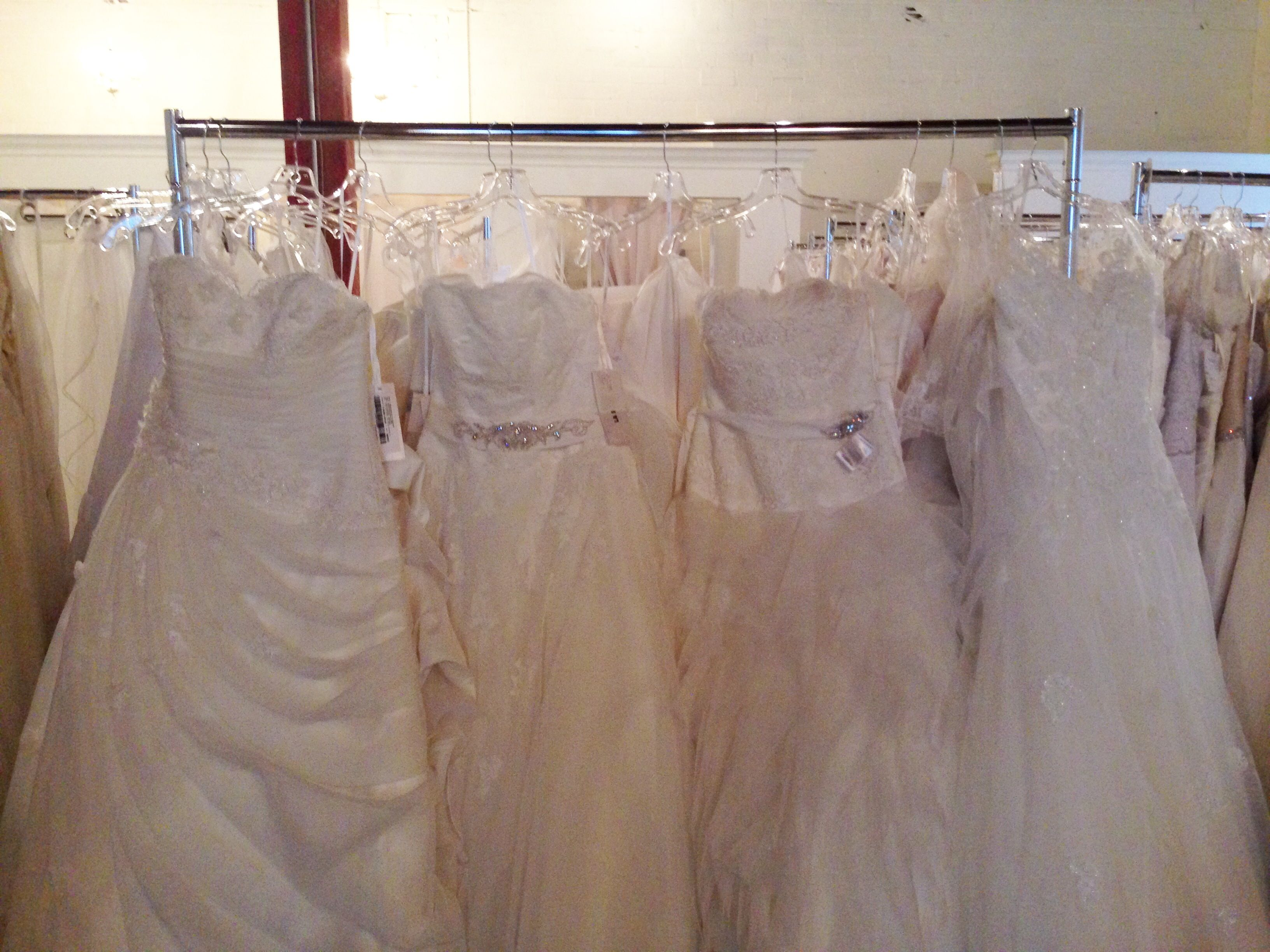 Wedding dress donation  A huge wedding dress donation of brand new sample gowns just