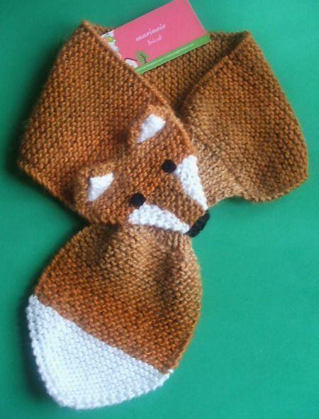 MARINOIE: Cachecol raposa #beanies