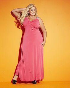 plus size maxi dress pink | best dress ideas | pinterest | maxi