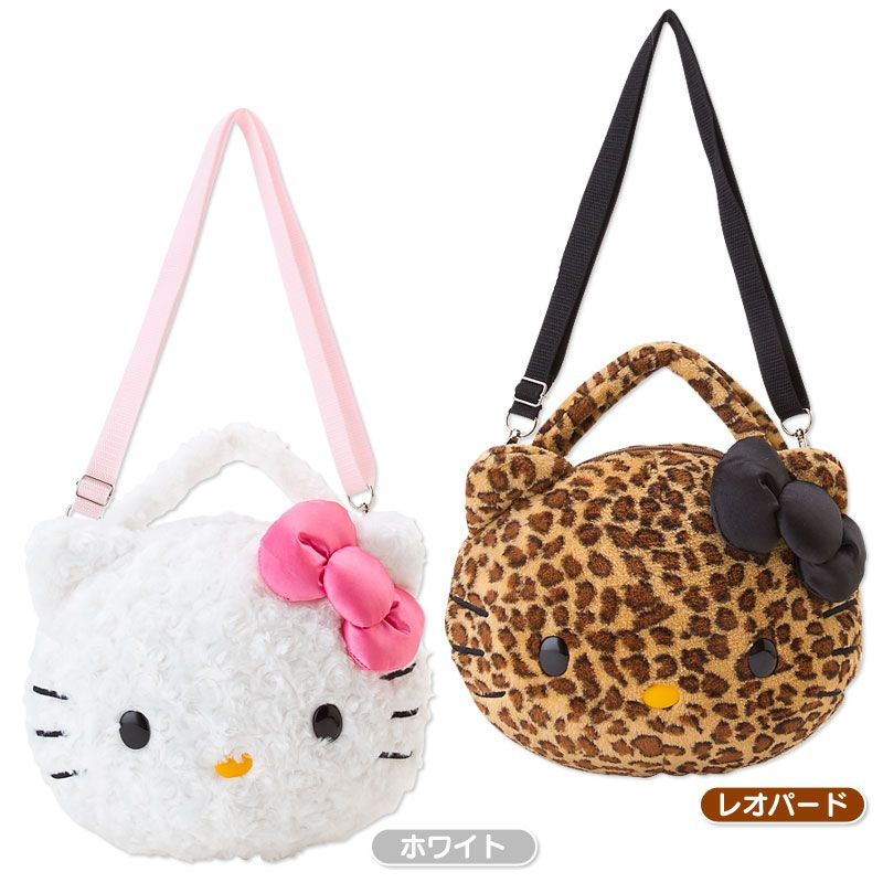 ab4f04fbe12 Hello Kitty Face-shaped bore shoulder bag Sanrio online shop - official  mail order site