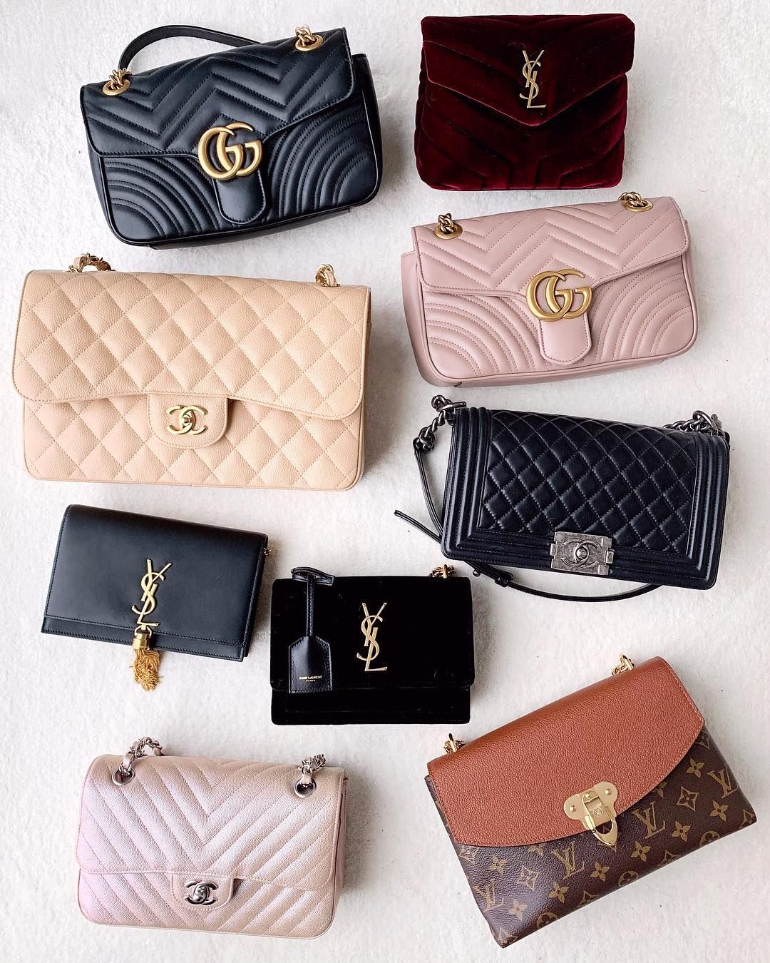 75cf23ca53ba Which one is your favorite  Get your authentic designer bag from www.reetzy.