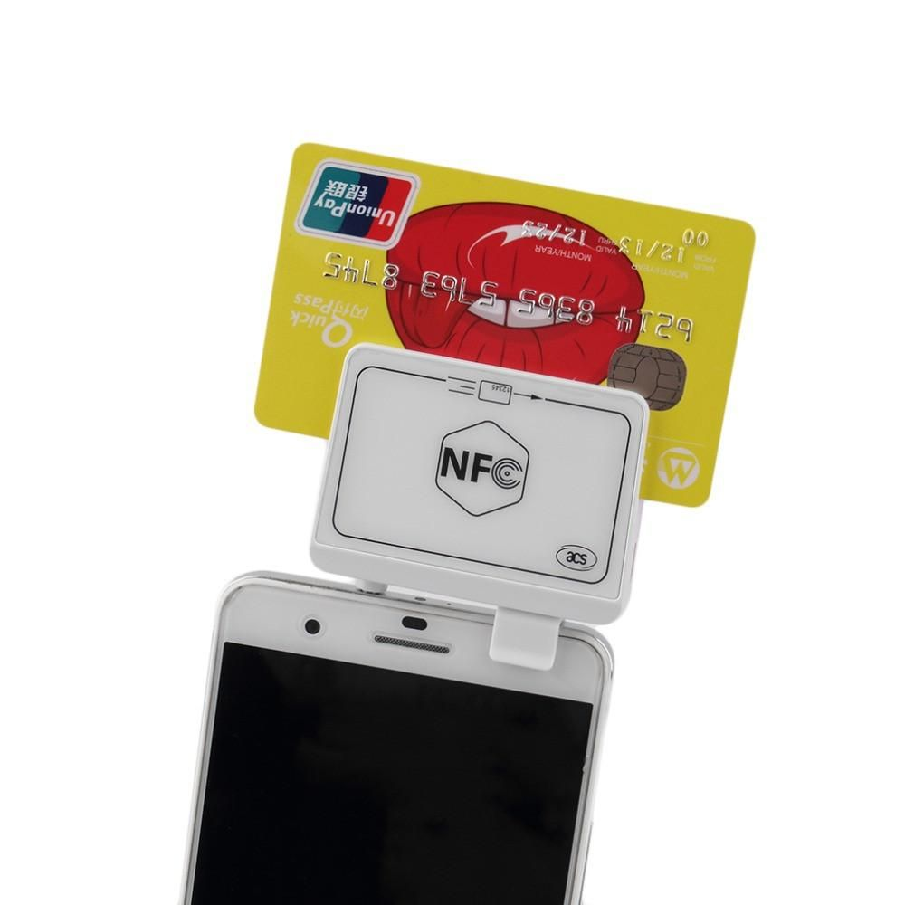 New NFC Contactless Tag Reader Writer Magnetic Card Reader