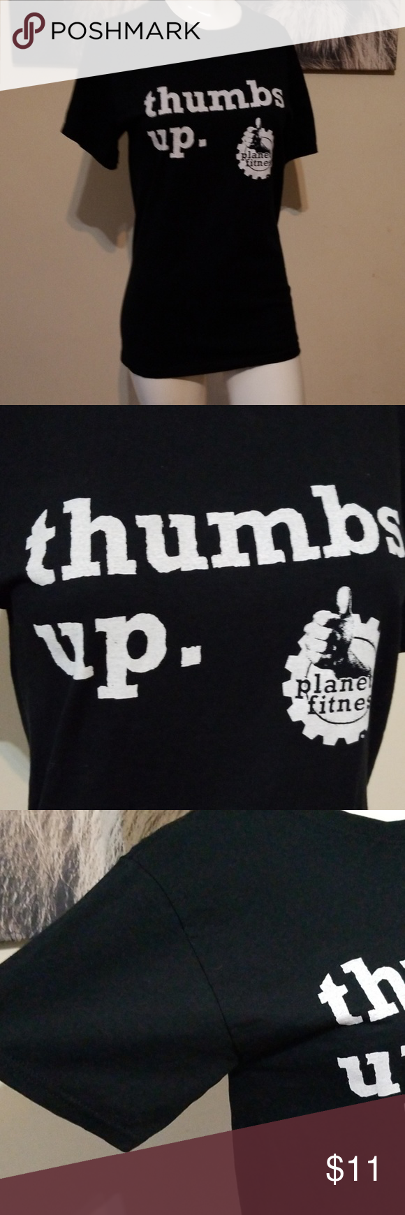 1 Planet Fitness Thumbs Up Tee Must Bundle Planet Fitness Workout Clothes Design Tees