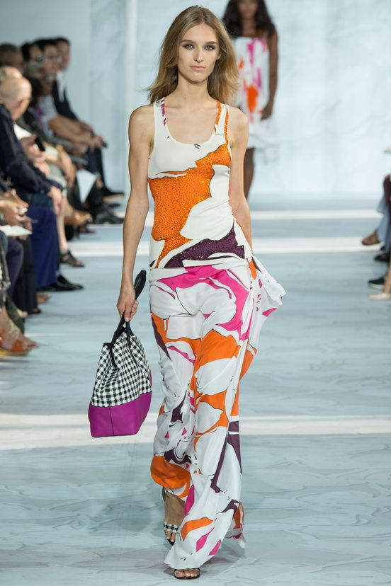 Diane von Furstenberg, Show Spring/Summer 2015 - Vogue English