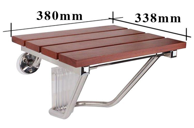 Sedile Doccia Legno : Nuovo magazzino parete sedia sedile a muro in legno massello