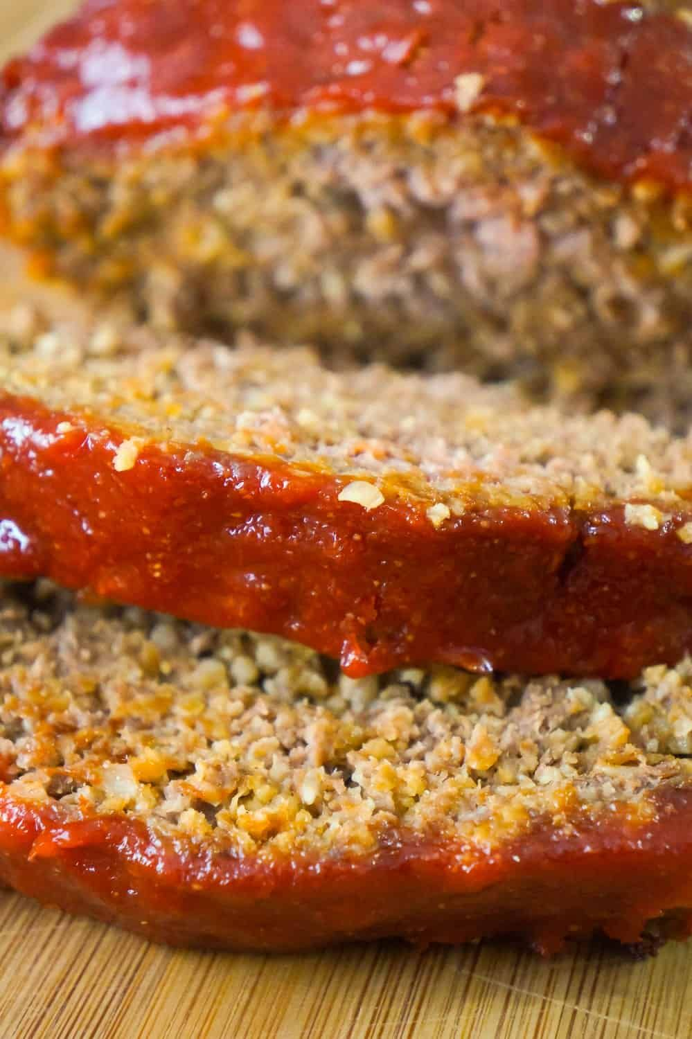 Meatloaf With Oatmeal Is An Easy Ground Beef Dinner Recipe This