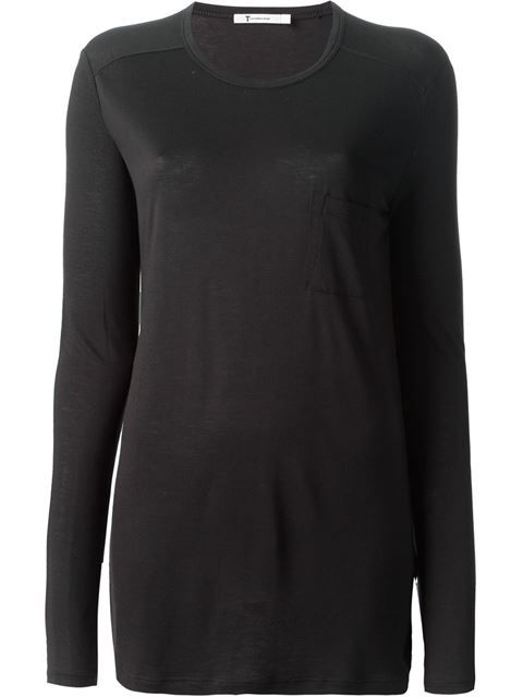 Shop T By Alexander Wang long sleeve T-shirt in -Renaissance- from the world's best independent boutiques at farfetch.com. Over 1000 designers from 300 boutiques in one website.