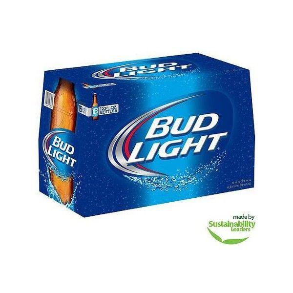 Bud Light Beer, 12 Fl Oz, 18 Pack Walmart.com ❤ Liked On