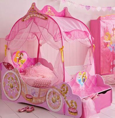La ropita de blanca cama princesa disney recamaras - Cama nina princesa ...
