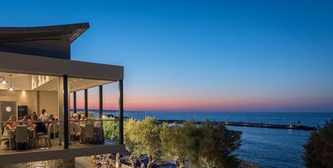 Nana Beach Hotel - Restaurant, 2017 - KMD architecture design + construction