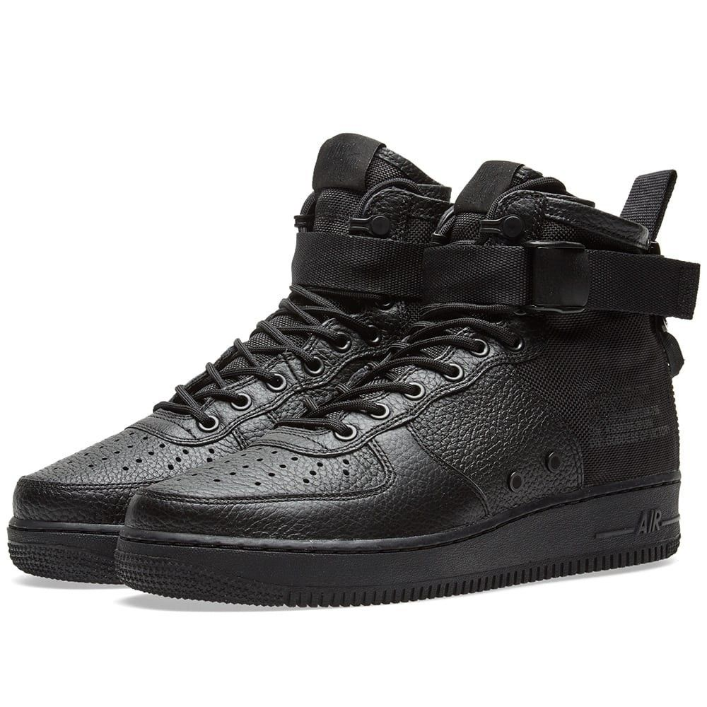 Nike SF Air Force 1 Mid in 2020 Nike shoes, Crazy shoes