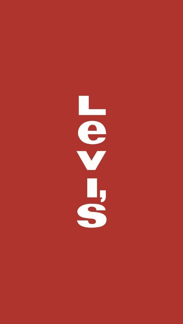 Levi S êーバイス Wallpaper Logo Background Iconic Wallpaper Hypebeast Wallpaper