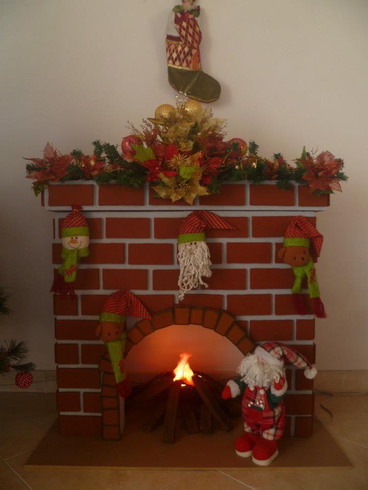 Navidad manualidades pinterest navidad chimeneas navidad y manualidades navidad - Adornos de chimeneas ...