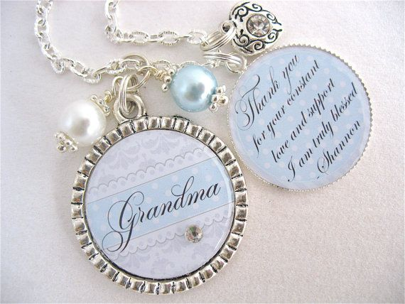 Grandmother Wedding Gift: Grandma Of The BRIDE Gift Grandmother Of The Groom Special
