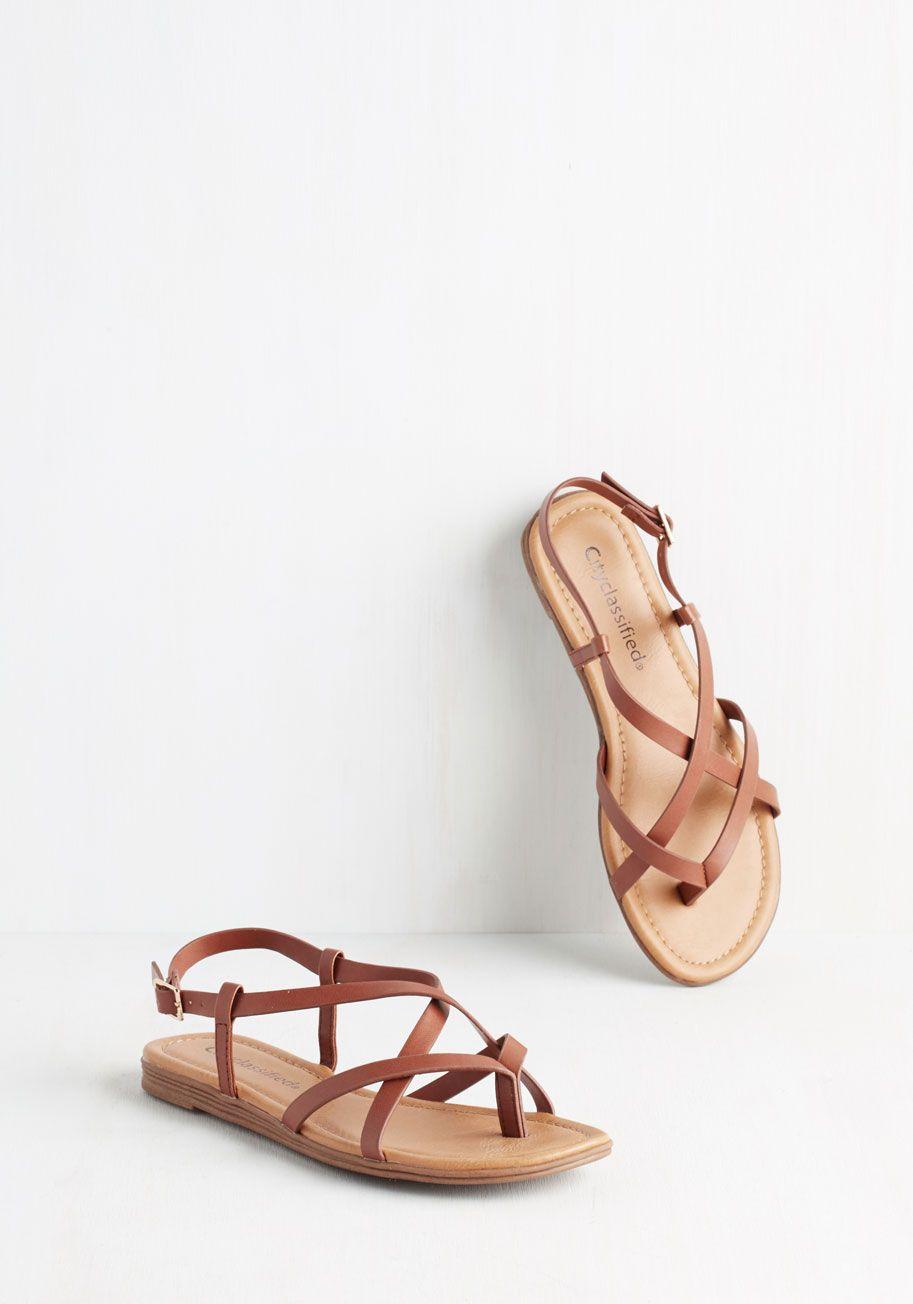90240044f2ee2 Skip Hop Hooray Sandal in Cognac - Flat