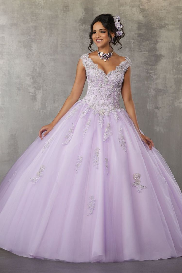 Satin and Tulle with intricate Embroidery and Beading