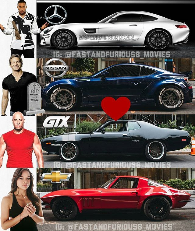 Pin By Jeselyn Thouvenel On Paul Walker/ Fast And Furious