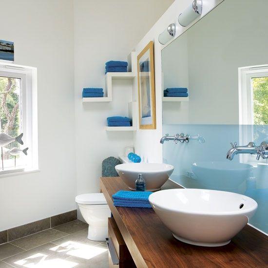 Design Styles, Decorating Ideas 67 Cool Blue Bathroom Design Ideas