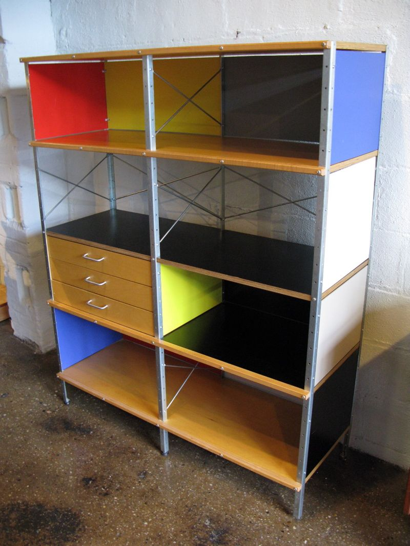 Eames Designed Bookcase Made By Herman Miller