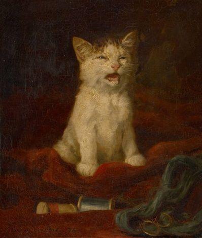 Chaton by Louis Eugène Lambert