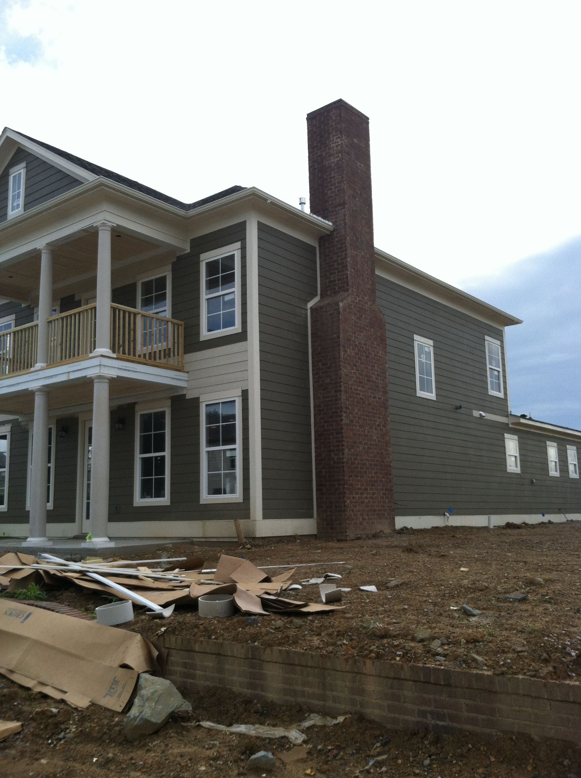 Newcastle Homes Adamson Plan Sherwin Williams Smokehouse Paint Our New House Pinterest